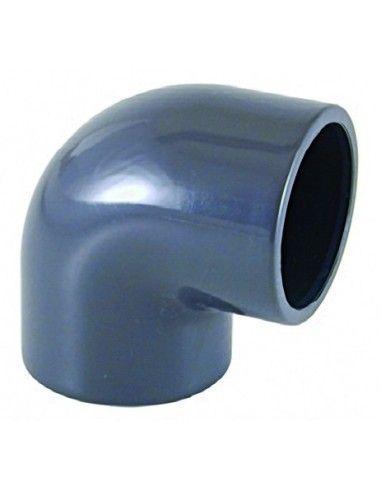 Coude PVC 90° à coller Ø63 mm