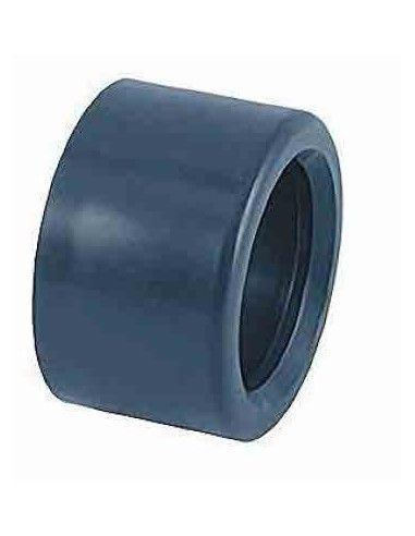 PVC Enkel verkleinstuk te lijmen Ø63 x 50 mm