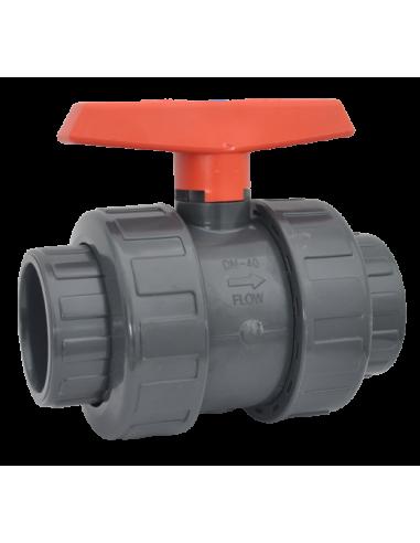 Vanne PVC anti-block Ø50 mm PN10 Cepex