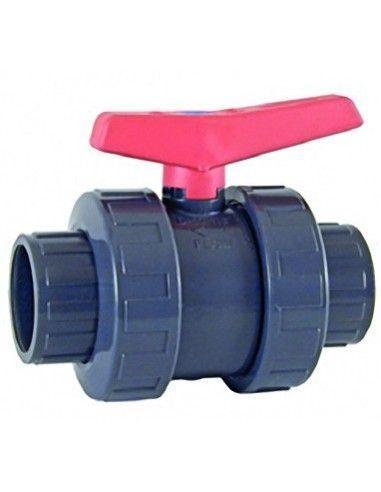 PVC anti-block kogelkraan Ø63 mm