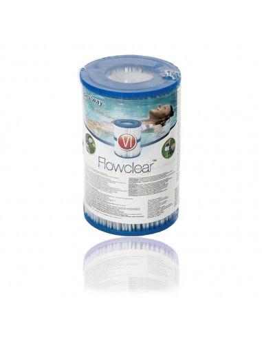 Filtre pour spa Bestway type VI (Lot de 2)