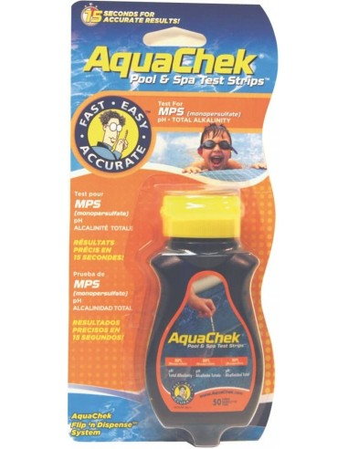 Aquachek - testeur d'oxygène actif de piscine