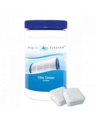 Filter clean - Nettoyant filtre cartouche piscine et spa - AquaFinesse