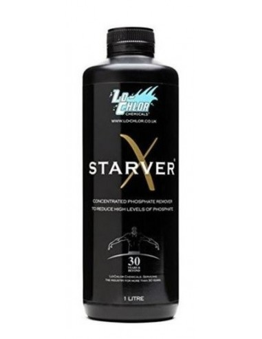 Lo-Chlor: Starver X 1L - élimine les phosphates (spa et piscine)