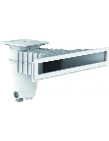 Skimmer design A800 Gris (béton/liner)
